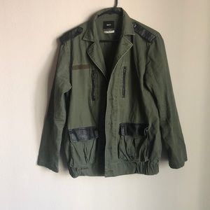 BDG military style jacket - S